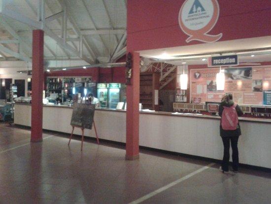 Hostel Inn Iguazu: Recepcion