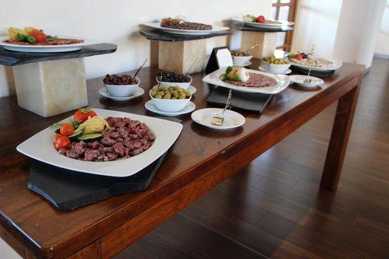 Le Meridien Ra Beach Hotel & Spa : Мясное ассорти