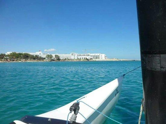 SENTIDO Aziza Beach Golf & Spa: On the catamaran