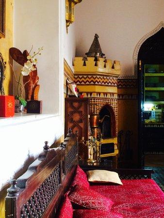 Riad Fes Baraka : Lobby room