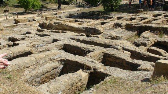 Valley of the Temples (Valle dei Templi): ruderi