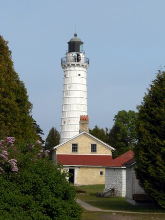 Cana Island Lighthouse: View at Entrance