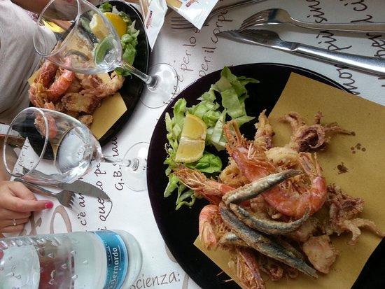 Ristorante Pizzeria da Tonino : fritto misto di pesce fresco