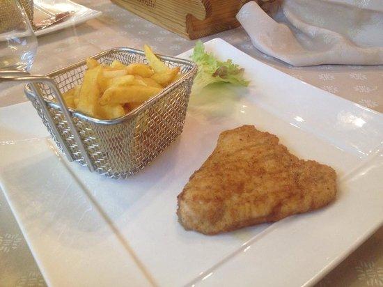 L'Ensoleille : Un demi plat de menu enfant ;-)