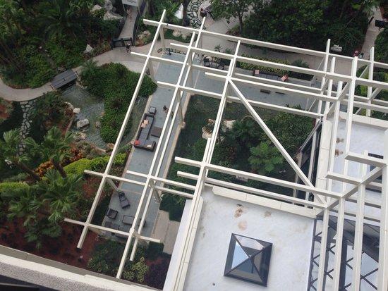 Hyatt Regency Grand Cypress: Balcony view