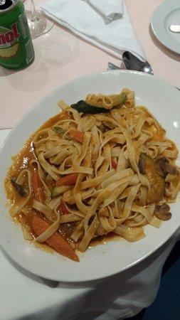 Restaurante O velho e o Mar : Vegetarian pasta