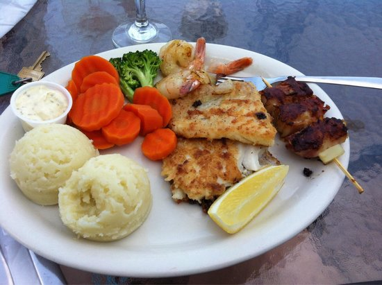 The Old Loft Restaurant: Fisherman's platter