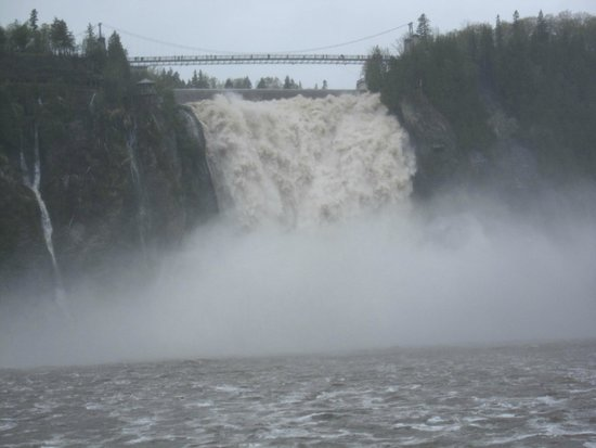 Parc de la Chute-Montmorency: Lots of Water