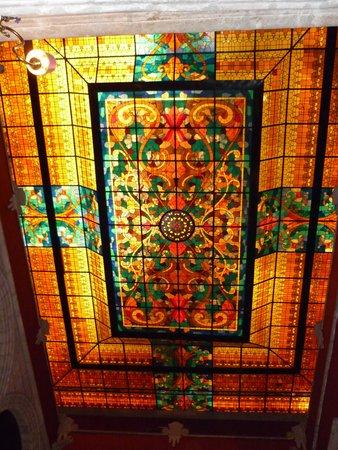 Hotel Virrey de Mendoza : ASPECTO DEL TECHO INTERIOR