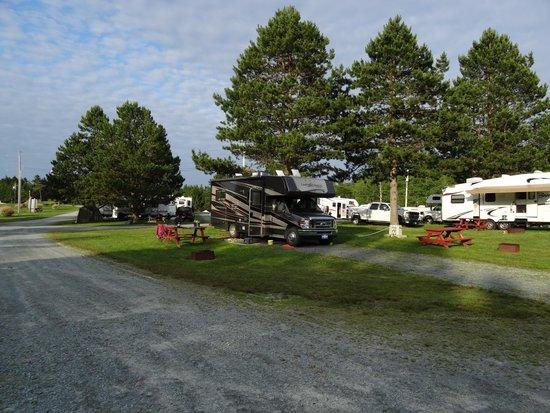 Shubie Campground: Site # 35