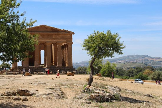 Valley of the Temples (Valle dei Templi): Les handicapés peuvent visiter en voiture