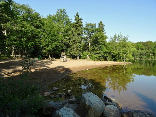 Shubie Campground: Plage
