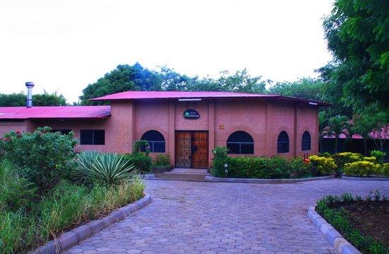 Casa Juventud: Vista del Salon Central