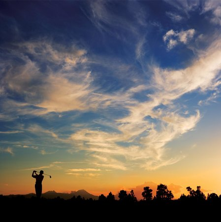 Pronghorn Resort: Sunset Golf