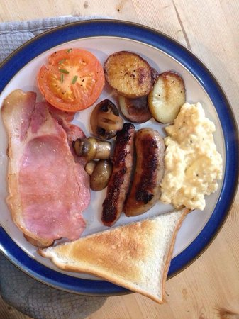Kendal House: Delicious cooked breakfast