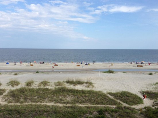 The Westin Hilton Head Island Resort & Spa : View from Premium OceanFront Room Balcony