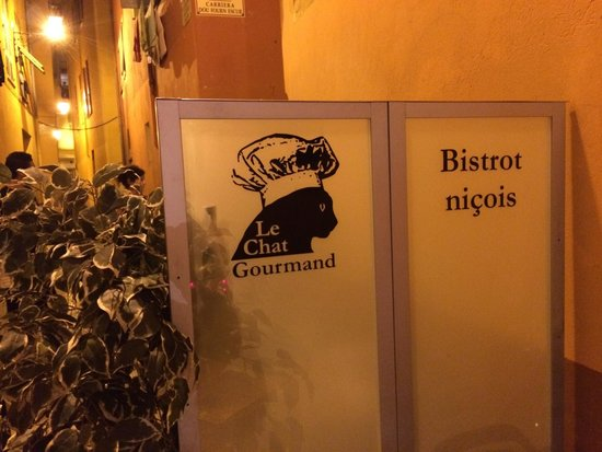 Le Chat Gourmand: The logo