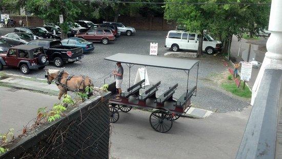 Palmer's Pinckney Inn: view--$12/day parking across street