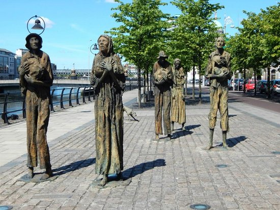 The Famine Sculpture: Hard to Imagine