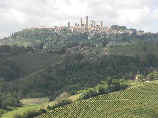 Chianti Wine Tour : Hill top town to visit on tour