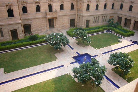 Umaid Bhawan Palace Jodhpur: Desde mi habitación