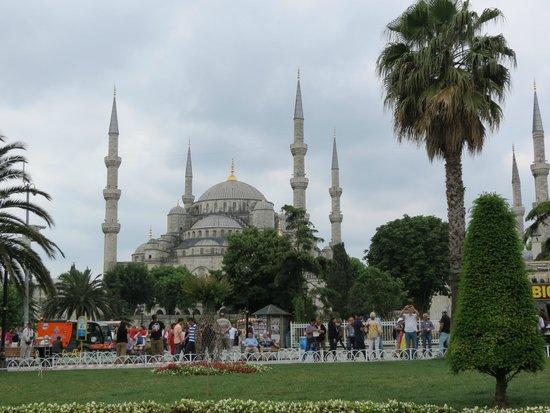 Mosquée Bleue (Sultan Ahmet Camii) : vista della Moschea Blu