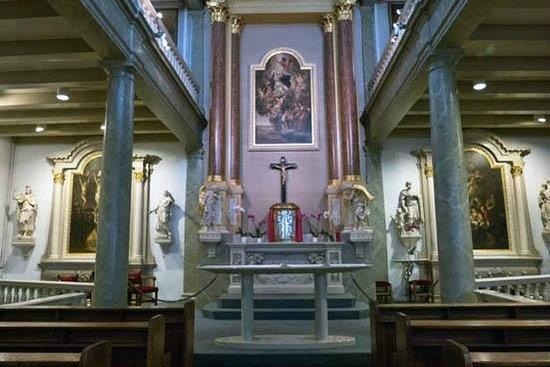 Beginenhof (Begijnhof): the chapel