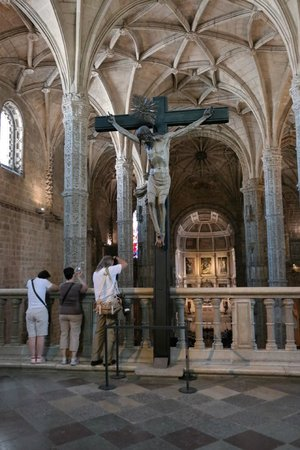 The Cloister of Jeronimos Monastery: Jesus Christ