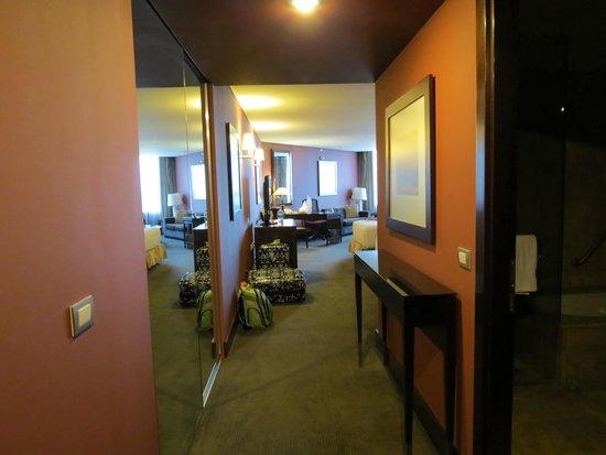 Hilton Mexico City Reforma : entrada do quarto