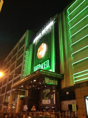 Wicked the Musical: Wicked show!