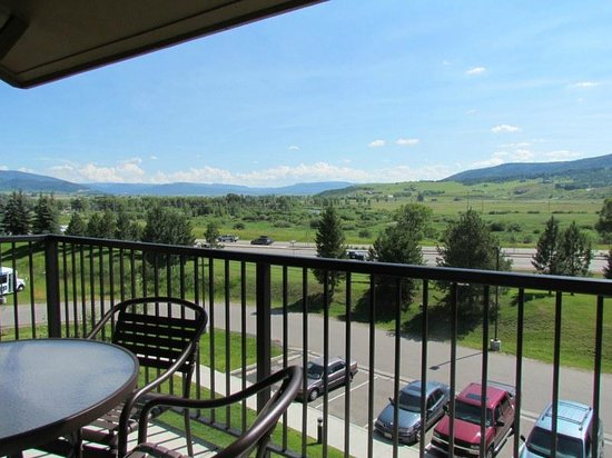 Wyndham Vacation Resorts Steamboat Springs: view from deck