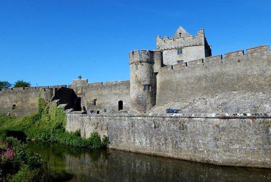 Cahir Castle : Castle Overview before entering