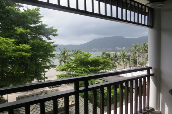 Avantika Boutique Hotel: View from top floor