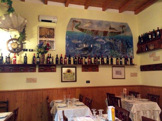 La Cantinola : Affreschi del ristorante