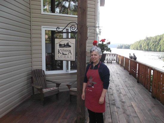 Kipawa, Canada: Barb provided great meals