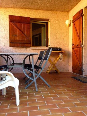 Les Pins de Santa Giulia : terrasse