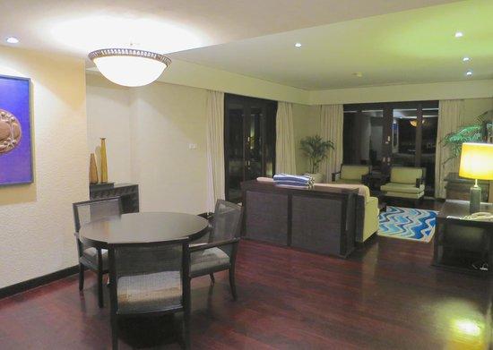 Conrad Bali: living room