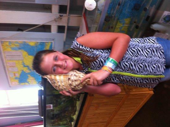 Aquarium at Rockport Harbor: Can you hear the sea?