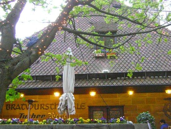 Bratwursthäusle: Front of Restaurant