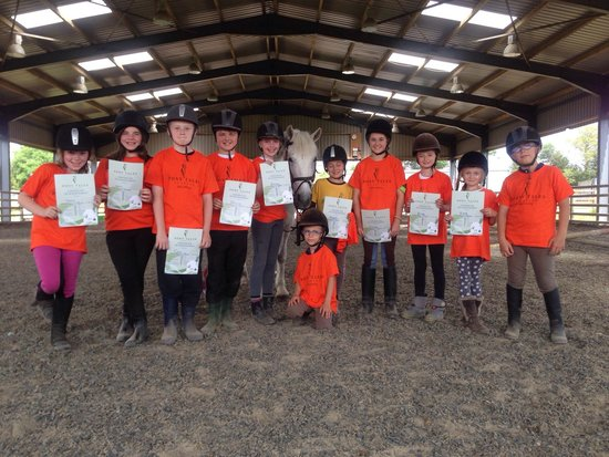 Pony Tales Stables: One of our summer camps 2014