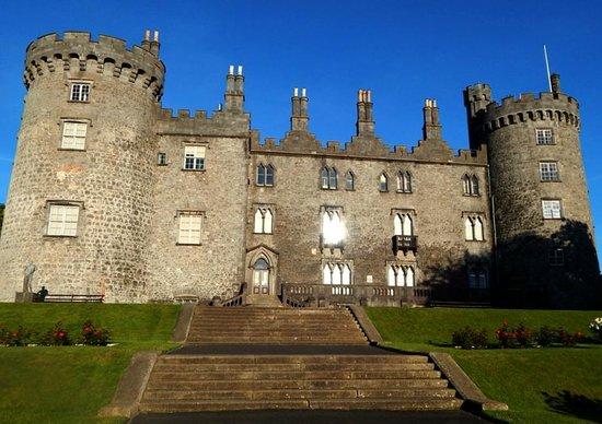 Kilkenny Castle: Rear of Castle