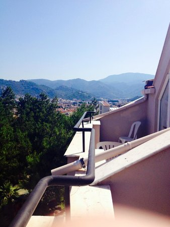 Kervansaray Marmaris: view from our room