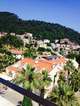 Kervansaray Marmaris Hotel: view from our room