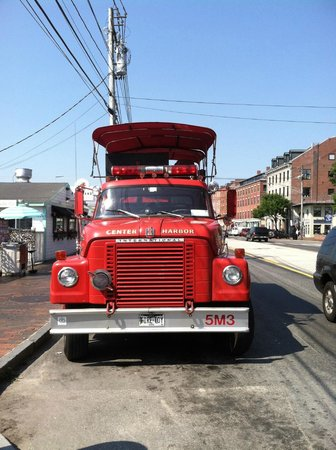 Portland Fire Engine Co: Plenty of shade with great views of the city