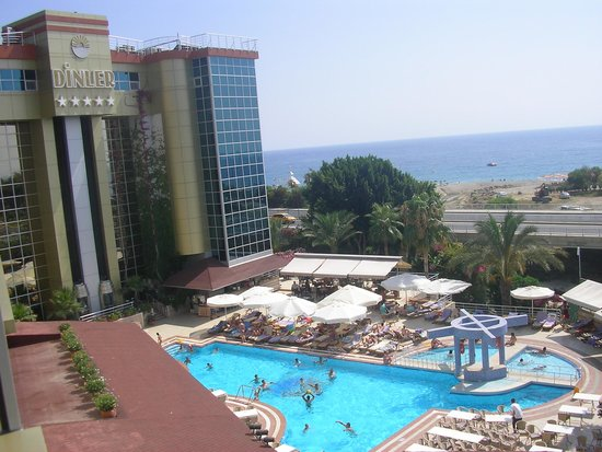 Dinler Hotels - Alanya: view from the room
