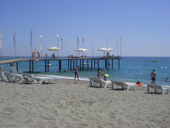 Dinler Hotels - Alanya: the beach