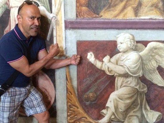 Chiesa di San Maurizio al Monastero Maggiore: Raul is a lover and a fighter