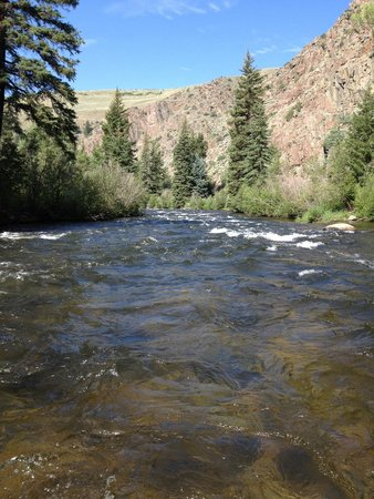 Three Rivers Resort and Outfitting: Lower Taylor river