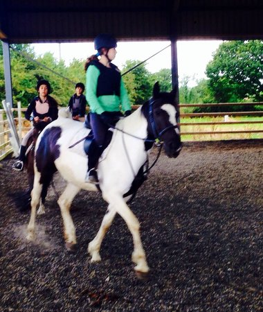 Pony Tales Stables: Lesson time :)