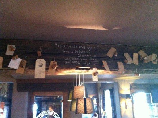 The Stretton Fox: Wishing beam- how cute <3